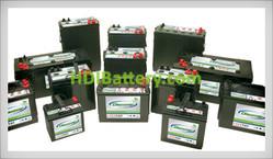 Batería para carro de golf 12v 55ah AGM EV22A-A Discover